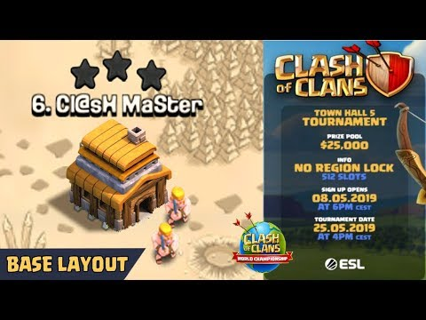 NEW TH5 WAR BASE 2019 Anti 3 STAR | Town Hall 5 (TH5) WAR BASE CLASH OF CLANS