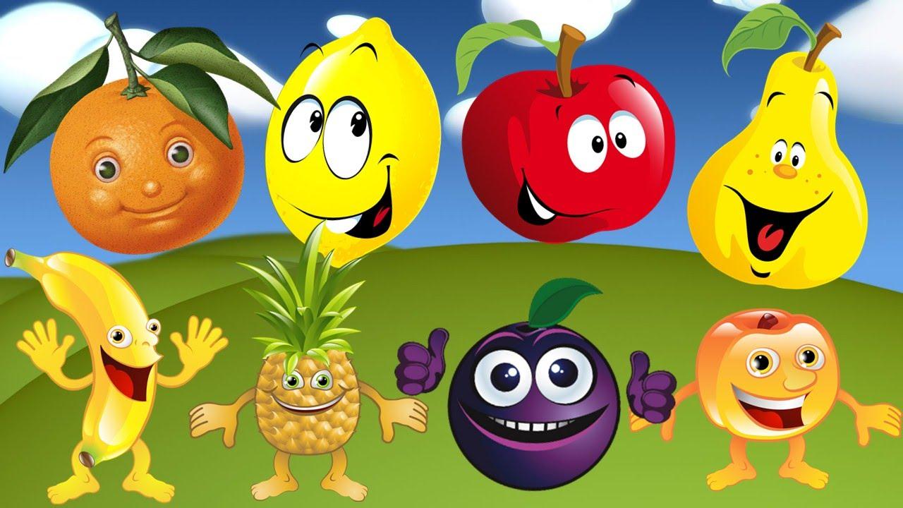 Учим фрукты, овощи и ягоды для самых маленьких ...