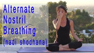 Alternate Nostril Breathing - Nadi Shodhana Pranayama