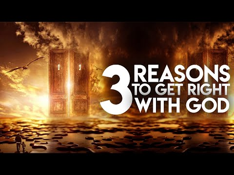 3 Reasons Why You Should Get Right With God: Tomorrow It Might be Too Late! ft. David Wilkerson