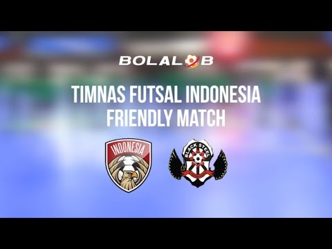 Timnas Futsal Indonesia (8) VS (6) Black Steel Manokwari : Friendly Match