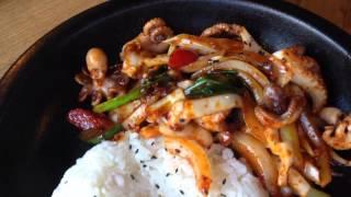 Посещение корейского ресторана в Москве