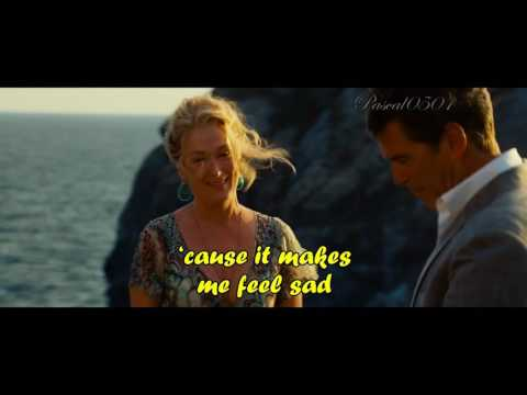 Mamma Mia!  The Winner Takes It All + Lyrics HD