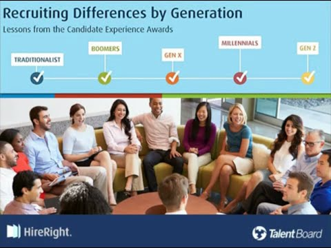 Recruiting Differences by Generation - Lessons from the Candidate Experience Awards [Webinar]