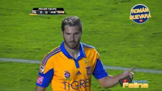 Tigres vs América 0-2 Final Ida Concachampions 2016 HD