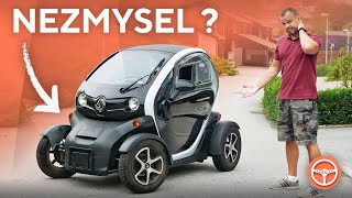 Is Renault Twizy the biggest nonsense in automotive history? (ENG SUBS) - volant.tv