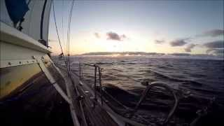 crossing the atlantic ocean sailing with orcas gopro hero 2,3 y 4