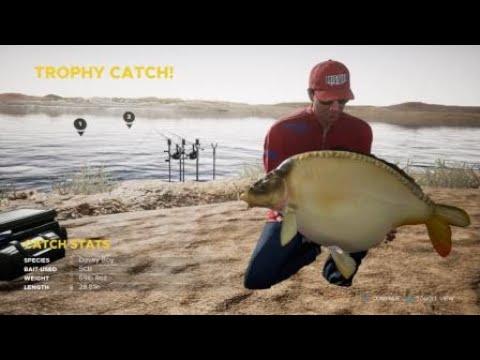 Fishing Sim World-Lago Del Mundo-Trophy Catch Davey Boy.#TeamShellinzGaming. |