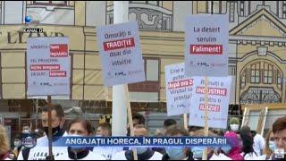 Stirile Kanal D (18.10.2020) - Angajatii HORECA, in pragul disperarii! Editie de pranz