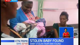 Baby stolen at Kenyatta National Hospital has been found and reunited with his family