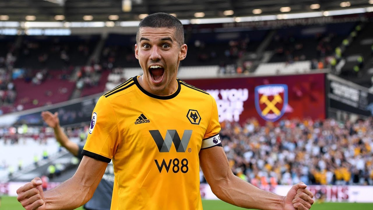 Coady on Wolves' first win back in the Premier League - YouTube