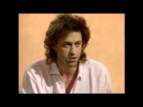 Bob Geldof July 1985