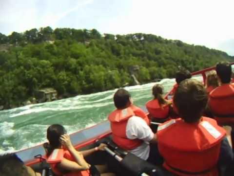 Niagara Falls Whirlpool Jet Boat Fun