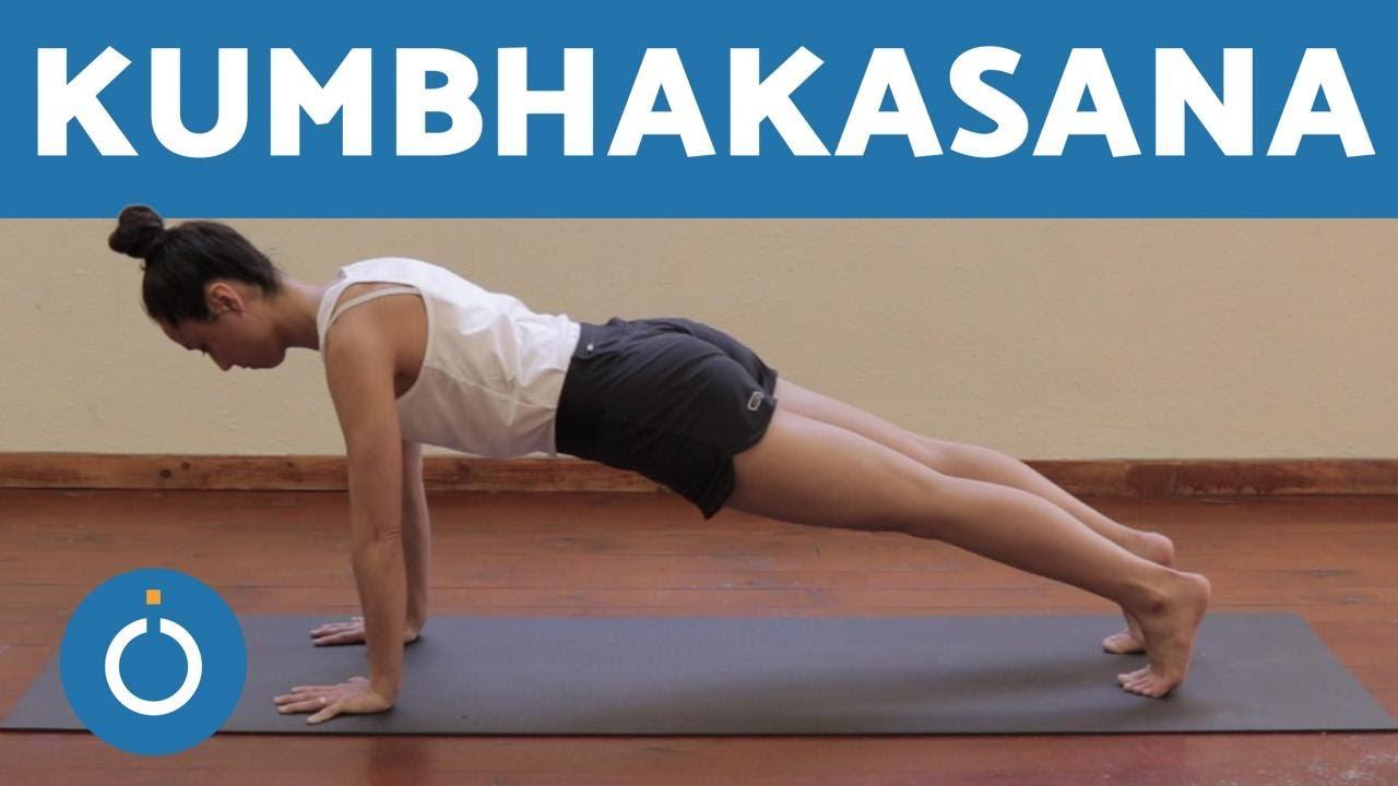 Postures Basiques De Yoga Faire La Planche Au Yoga Kumbhakasana Youtube