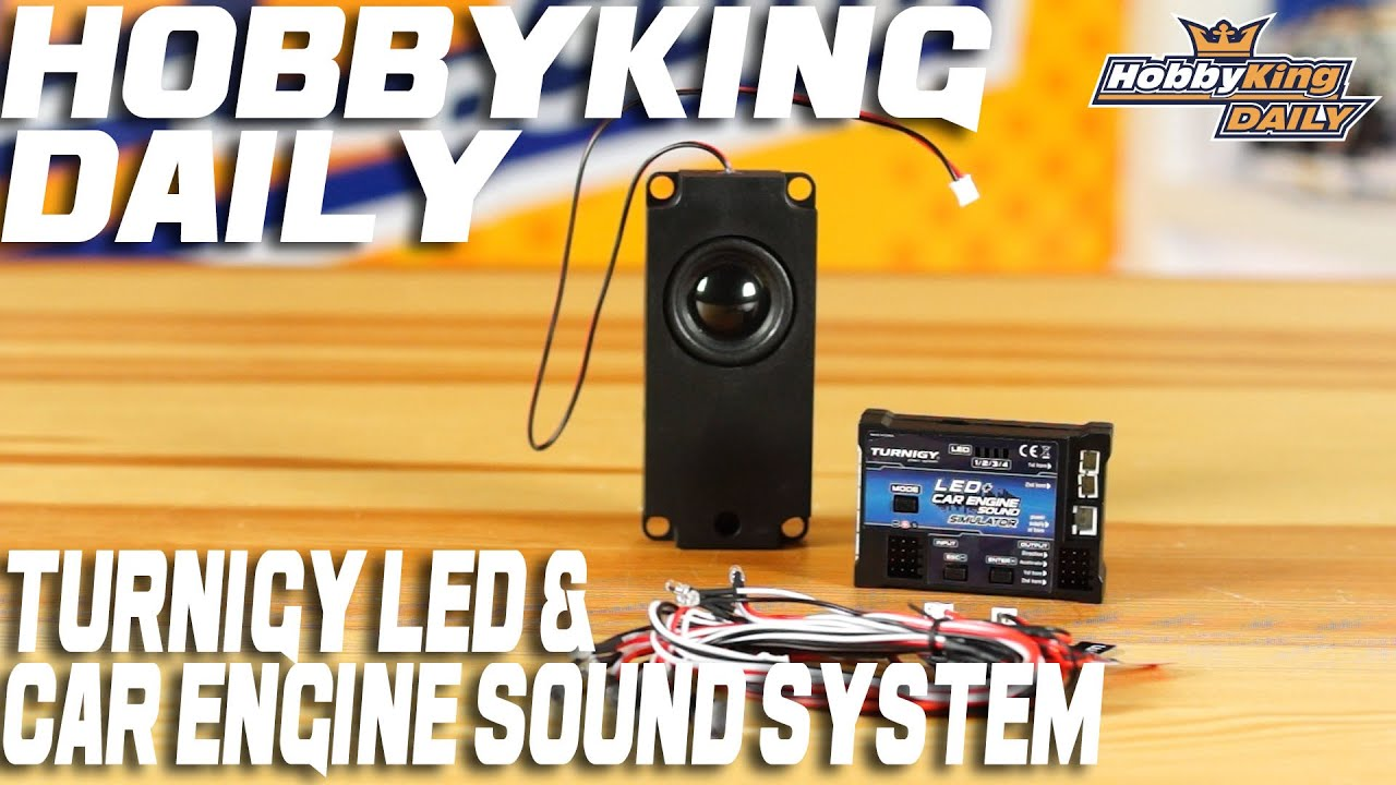 Turnigy Led Car Engine Sound System Hobbyking Daily Receiver Controlled On Off Switch Gt R C Electronics