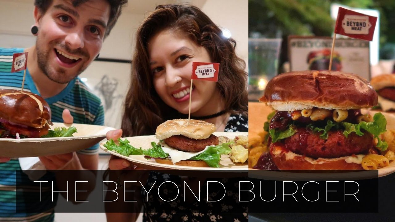 IT'S FINALLY HERE | Beyond Burger Launch Party & Date Night ❤️