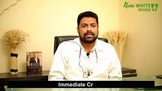 Dr. Sanketh Reddy Best Implantologist at Apollo White Dental Clinic Chennai