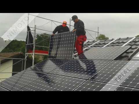 Sunpower: PV Installation Hombrechtikon ZH #activsolarschweiz