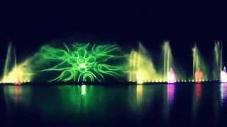 Фонтан Рошен. Фрагмент программы 2013-2014 г(Фонтан Рошен (Винницкий фонтан) - единственный в Украине и самый большой в Европе плавающий фонтан, построе..., 2015-07-22T01:52:28.000Z)