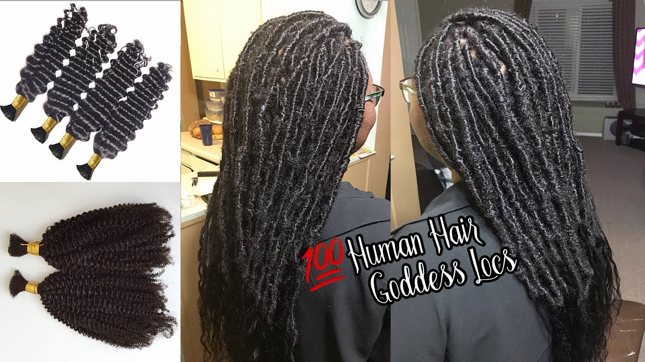 How To Do Long Dess Faux Locs With 100 Human Hair All Bundles