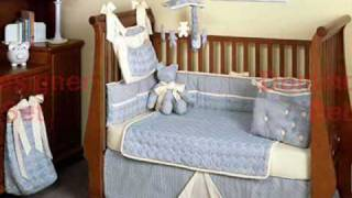 Modern Crib Bedding, Crib Bedding Set And Sets, Designer Baby Bedding In Organic Cotton.