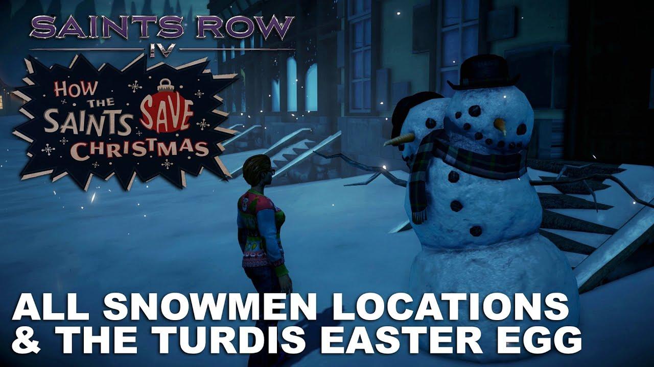 Saints Row IV: How The Saints Save Christmas - All Snowmen ...