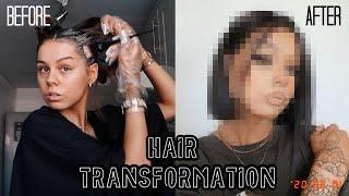 MY NEW HAIR   HAIR TRANSFORMATION AT HOME