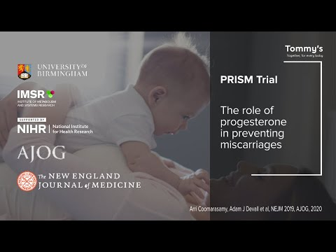 Progesterone for the Prevention of Miscarriage. The PRISM Trial: evidence and recommendations.