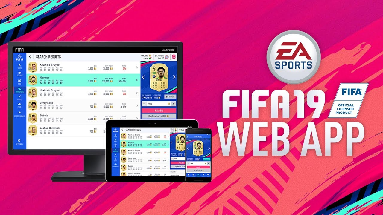 THE FIFA 19 WEB APP! RELEASE DATE AND NEW FEATURES! - YouTube