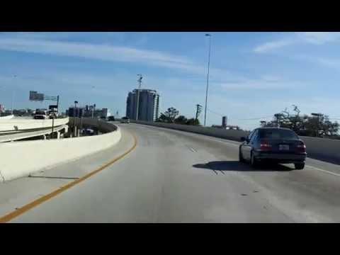 Lee Roy Selmon Expressway (FL 618 Exits 1 to 9) eastbound