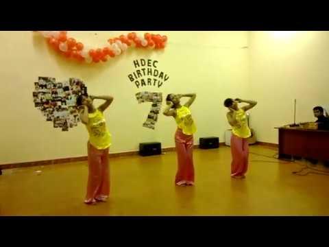 múa dân gian...bèo dạt vân bay...HDEC 7th birthday party