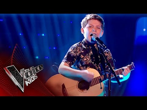 Jake performs 'Humble And Kind': Live Final   The Voice Kids UK 2017