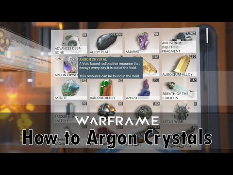 How to Get Argon Crystals (2019)