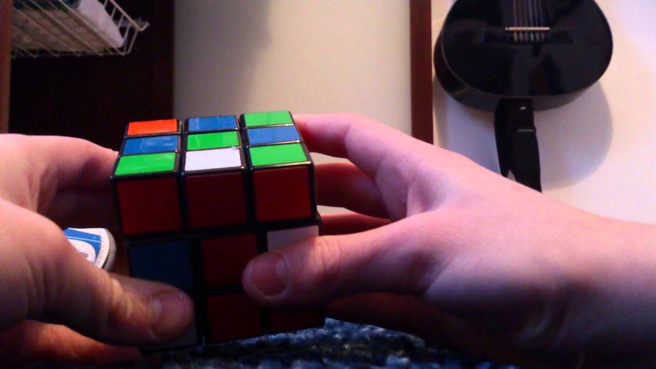 hur man klarar rubiks kub 3x3