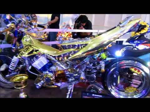 CUSTOM RAIDER 150 ,SNIPER 150 ,AEROX 155 @INSIDE RACING 2018 MANILA