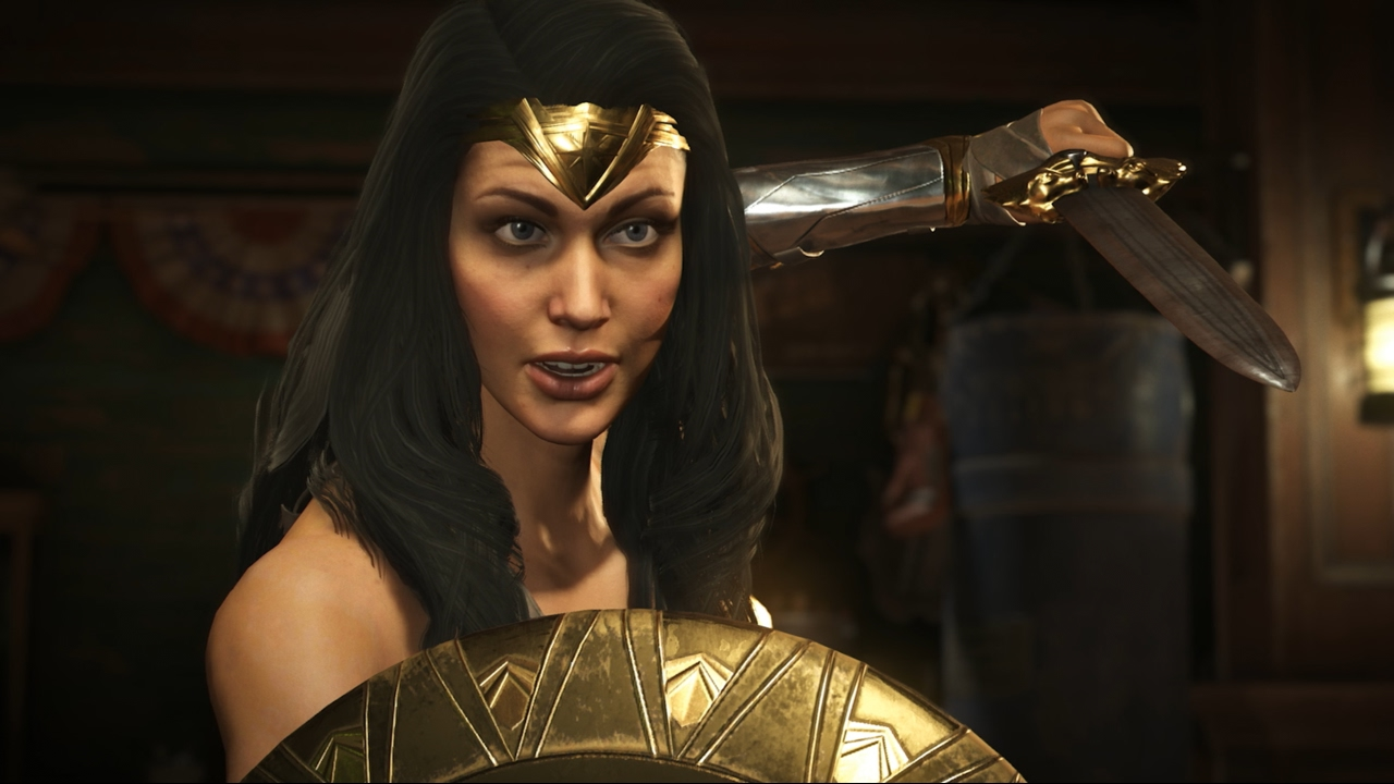 Injustice 2 The Wonder Woman Movie Costume Youtube