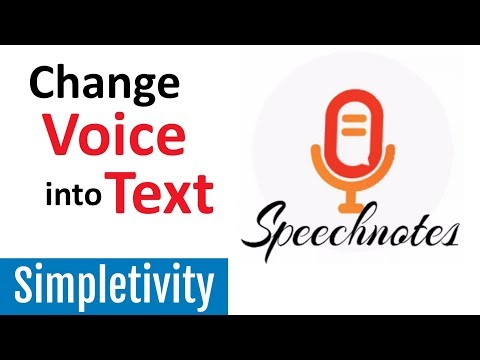 Turn Your Voice Into Text With Speechnotes (Review And Demo)