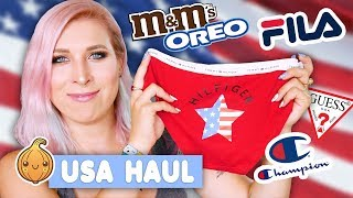 HAUL z USA - Co kupiłam w Walmart + ubrania i pamiątki | Agnieszka Grzelak Vlog