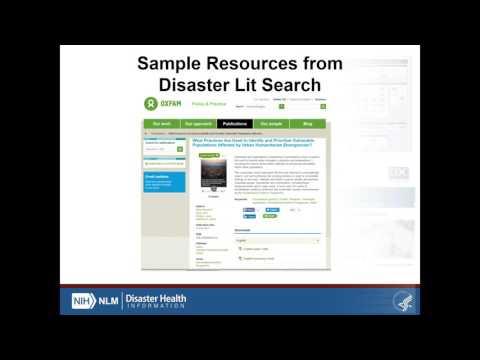 Toolkit for Disaster Preparedness & Response Information