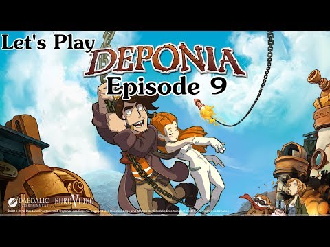 Let's Play Deponia Episode 9 - Lower Ascension Station