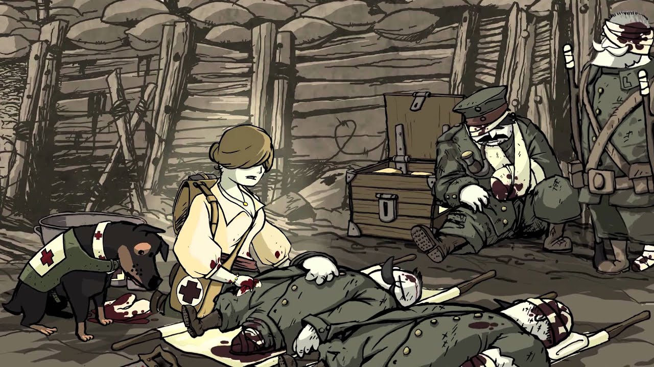 valiant hearts the great war official trailer uk youtube