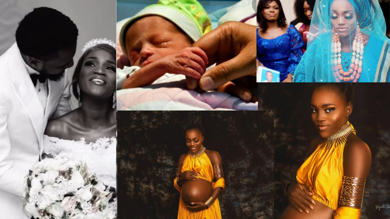 Download Actress Bukunmi oluwasina welcomes first child with her husband video
