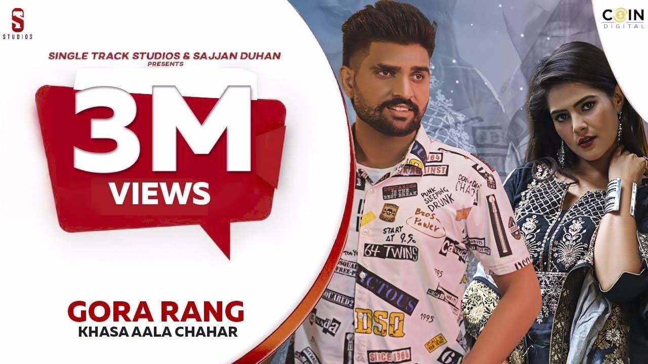 Download New Haryanvi Songs Haryanvi 2020   Khasa Aala Chahar   Gora Rang   Single Track Haryanvi  