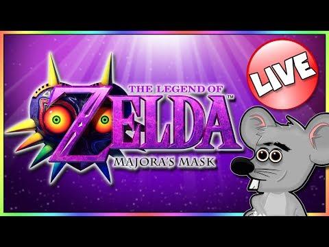 SNOWY MOUNTAIN DUNGEON - The Legend of Zelda: Majora's Mask - BLIND PLAYTHROUGH | Live Stream