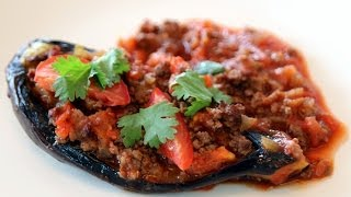Turkish Stuffed Eggplant (Karniyarik)
