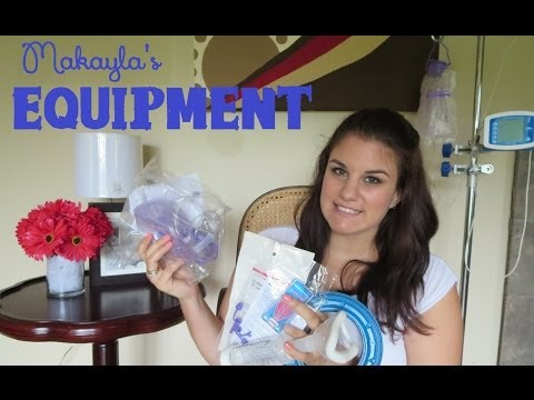 Living With A Child With A Disability Series: Makayla's Equipment