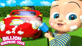 Toy CARS Playground Song | BST Songs for Children