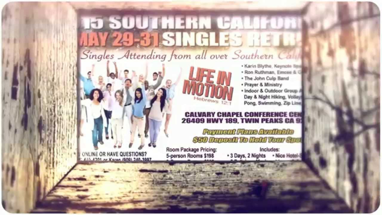Singles retreat california