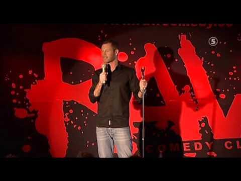 Mårten Andersson  Peter Antoine Raw Comedy Club
