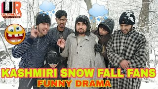 KASHMIRI SNOW FALL FANS / ULTIMATE ROUNDERS